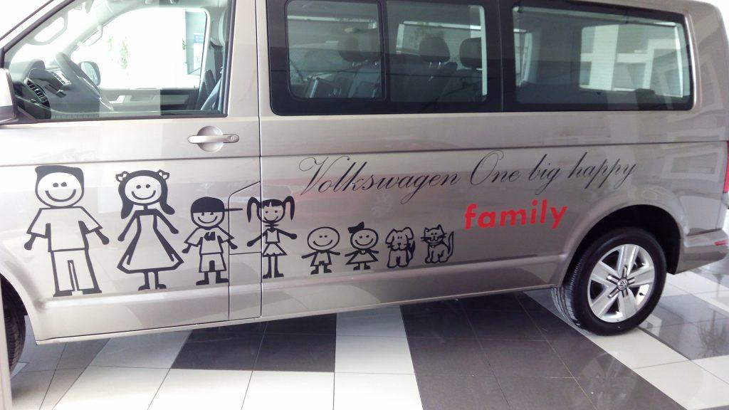 Branding Volkswagen Transporter